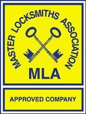 Master locksmith association logo