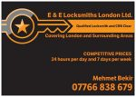 E & E Locksmiths London Ltd.